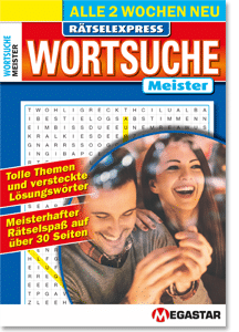 Megastar Rätselexpress Wortsuche Meister
