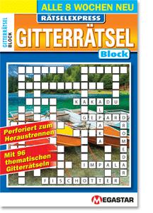 Megastar Rätselexpress Gitterrätsel Block