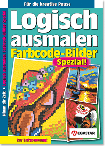 Megastar Logisch ausmalen: Code-Bilder Spezial