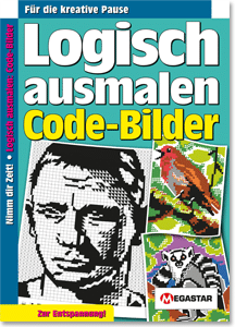 Megastar Logisch ausmalen: Code-Bilder