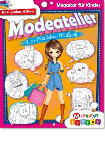 Megastar Junior Modeatelier Das Mädchen Malbuch