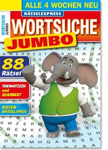 Megastar Rätselexpress Wortsuche Jumbo