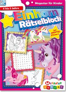 Megastar Junior Einhorn Rätselblock