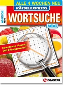 Megastar Rätselexpress Wortsuche Mini