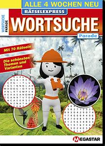 Megastar Rätselexpress Wortsuche Parade