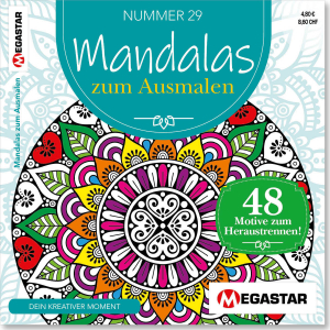 Megastar Mandalas zum Ausmalen
