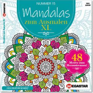 Megastar Mandalas zum Ausmalen XL