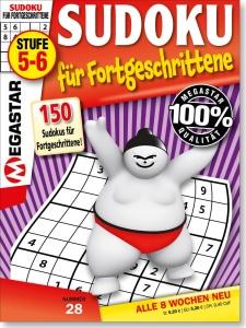 Megastar 150 Sudoku für Fortgeschrittene