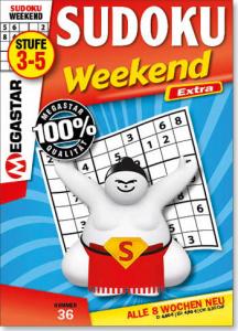 Megastar Sudoku Weekend Extra