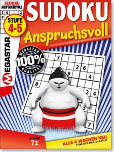 Megastar Sudoku Anspruchsvoll