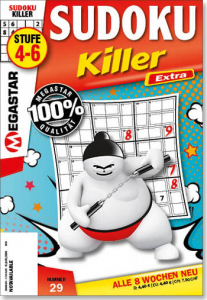 Megastar Sudoku Killer Extra