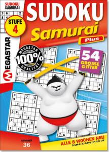 Megastar Sudoku Samurai Plus