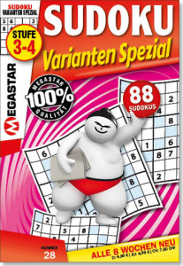 Megastar Sudoku Varianten Spezial
