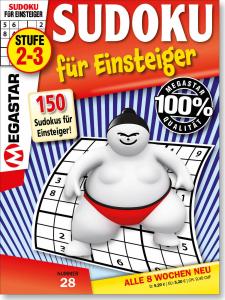 Megastar 150 Sudoku für Einsteiger