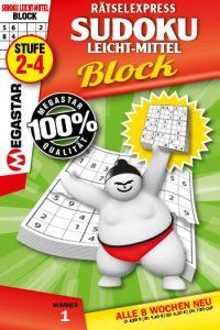 Rätselexpreass sudoku leicht-mittel Block