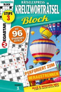 Kreuzworträtsel Block