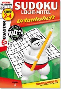 Sudoku leicht-mittel Urlaubsheft